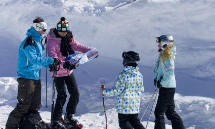 skiën met kids