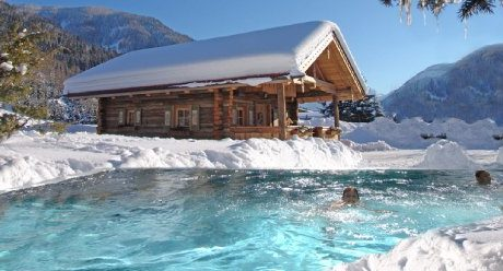 JOSK Flachau Hotel Bergzeit zwembad