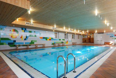 JOSK Val di Fiemme Sporthotel Pampeago zwembad wellness