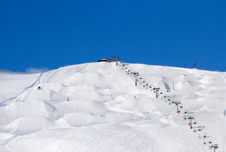JOSK Livigno snowpark funpark