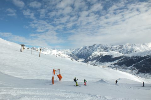 JOSK Livigno boardercross kids