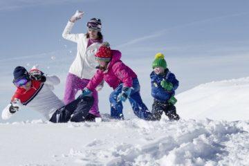Vijf ideale gebieden voor een skivakantie met kinderen