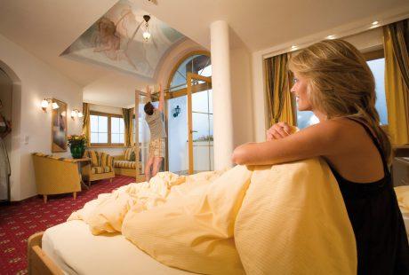 JOSK Zillertal Hintertux Hotel Tirolerhof kamer