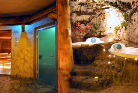 JOSK Al Forte Festungshotel Arabba wellness sauna