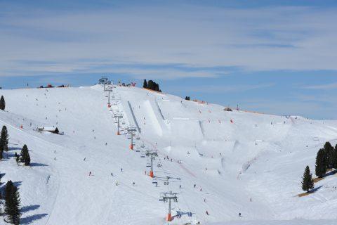 JOSK Val di Fiemme snowpark funpark