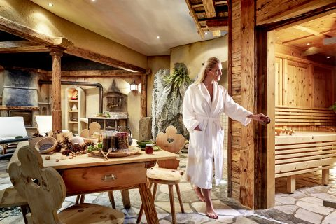 JOSK Sexten Hotel St Veit wellness zwembad sauna