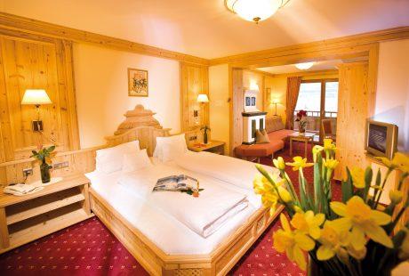 JOSK Ischgl Galtür Wirlerhof Almhof Huber Hotel kamer